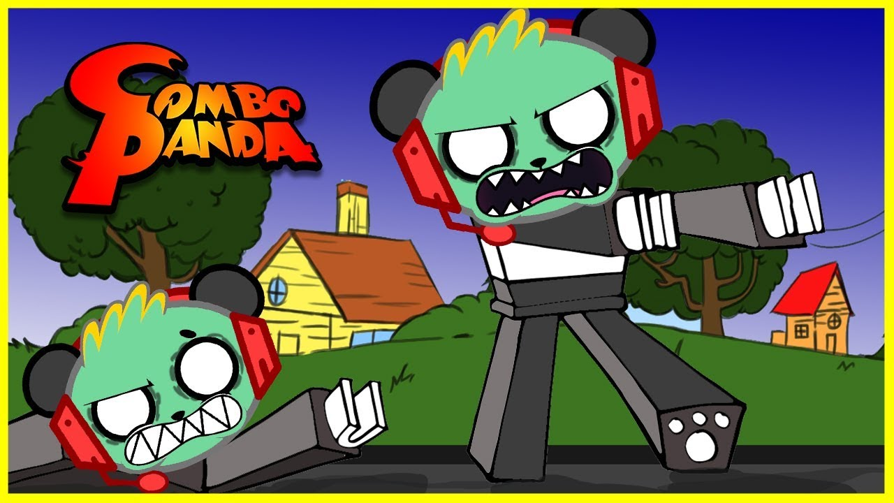 Roblox Zombie Rush! Let's Play with Combo Panda!
