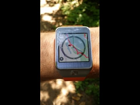 BackCountry Navigator on Samsung Galaxy Gear 2