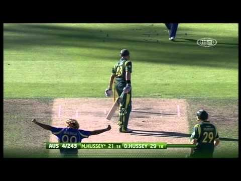 Commonwealth Bank Series Match 9 Australia vs Sri Lanka - Highlights