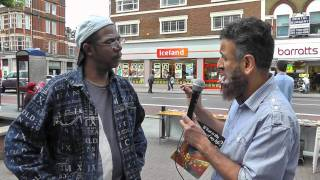 'Live'Dawah-How Paul becomes Muslim in a few minutes ! (Part 1/2) Street Dawah