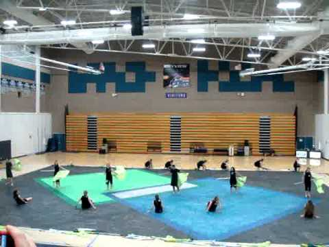North Salem Guard at Skyview Finals 2011
