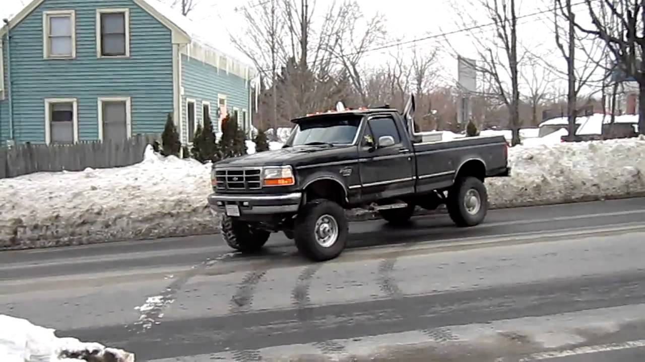 Lifted Ford F350 Turbo Diesel