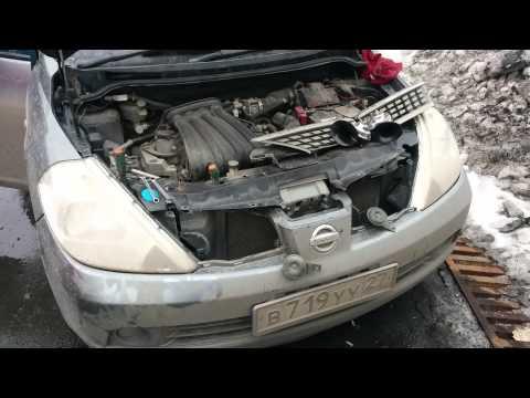 Nissan Tiida Код Краски