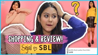 I Shopped From SejalXSBL |Sejal Kumar Clothing Line Review & TryOn | ThatQuirkyMiss