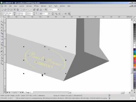 Giáo trình thiết kế quảng cáo chuyên nghiệp CorelDraw X3. Ep 2.2