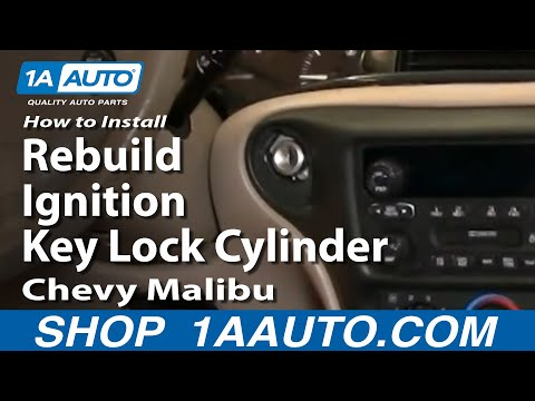 How To Install Replace Rebuild Ignition Key Lock Cylinder Chevy Malibu 97-03 1AAuto.com
