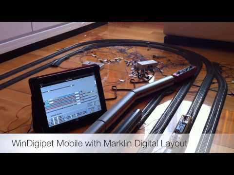 Marklin Digital Layout with WinDigipet Mobile