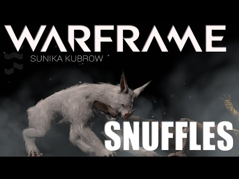 Warframe My first Kubrow Snuffles... Now grow up already gad dangit!  *U14*