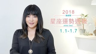 01/01-01/07|星座運勢週報|唐綺陽