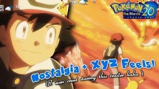 ☆NOSTALGIA & XYZ FEELS! // Pokemon 'I Choose You!' 20th Anniversary Movie Trailer REACTION☆