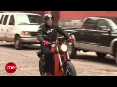 Cnet video review of Brammo Enertia