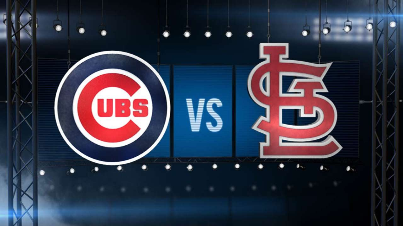 6/28/15: Cards use six doubles to sweep rival Cubs