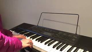Star Wars and super mario bros theme on piano!
