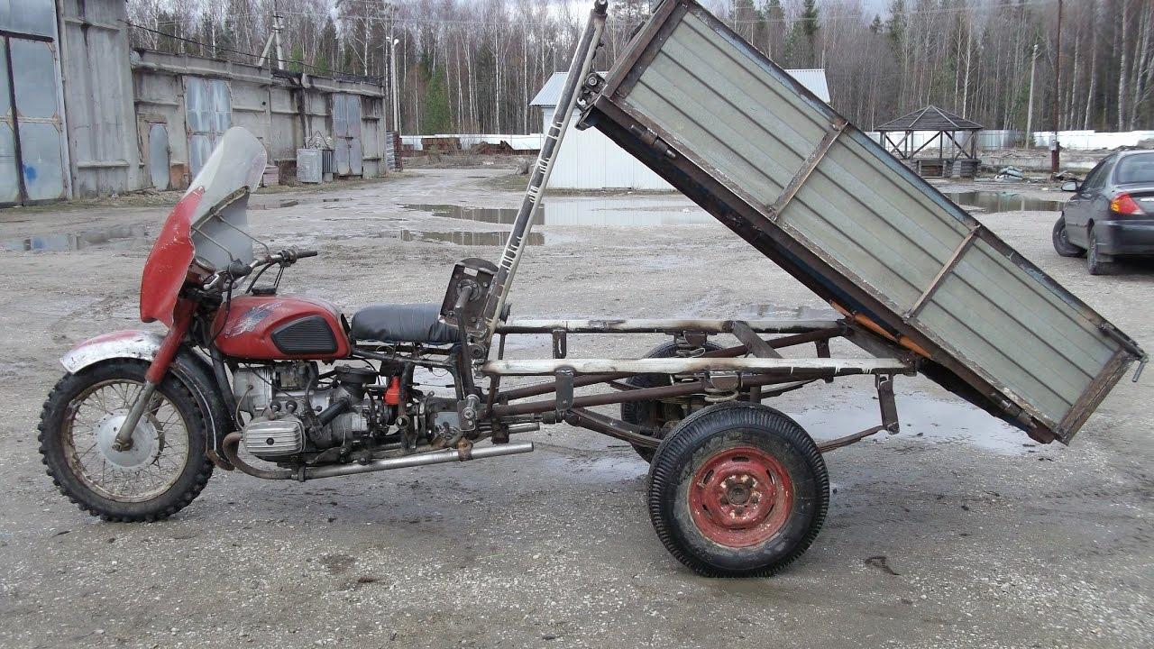 Самый простой трайк из Урала мотоциклы Урал