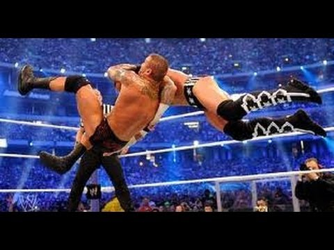 WWE Randy Orton TOP 10 RKO