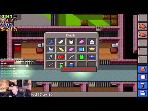 Escapists Stream - Part 1 - Woofin on tha' Block, Boi! (Extra comma edition)