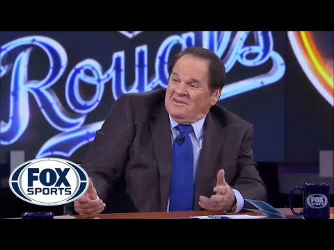 Pete Rose loses it, epic laughing fit ensues