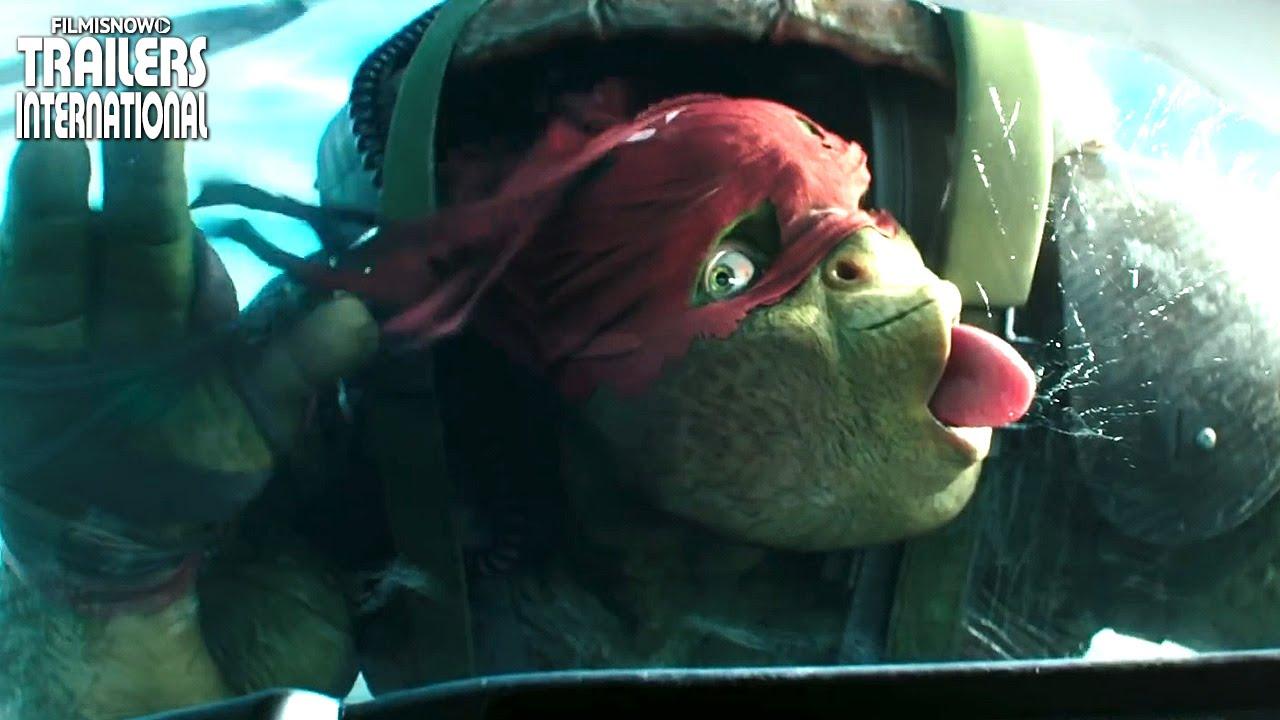 As Tartarugas Ninja: Fora das Sombras | Clipe + Trailer Compilation [HD]