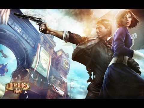 Bioshock Infinite - Hard Difficulty - Part 32 Defeat the Ghost of Lady Comstock