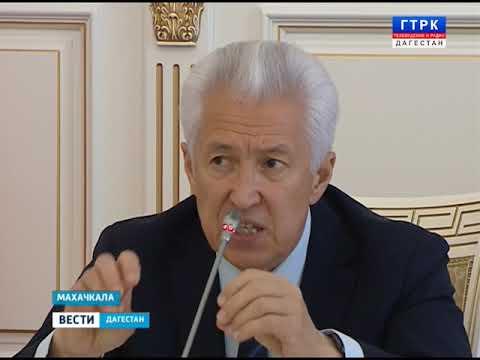 Планёрка у Главы Дагестана  24.09.18 г