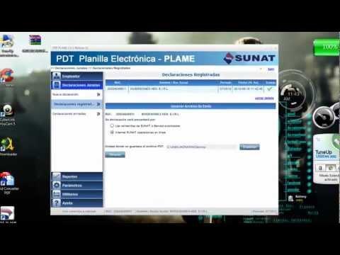 PLAME - SUNAT version 2.2 / LO NUEVO Y MUY BIEN EXPLICADO ( HD )