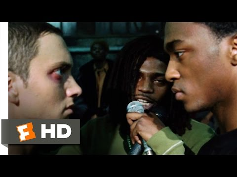 8 Mile (10 10) Movie Clip - Rabbit Battles Papa Doc (2002) Hd video