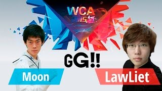Moon vs LawLiet .World Cyber Arena 2015