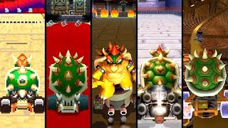 Evolution of Bowser Courses in Mario Kart (1992-2019)