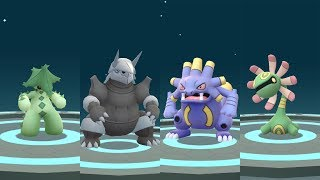 Evolution Pokémon Go Gen 3: Cacturne, Aggron, Exploud, Cradily, Armaldo, Claydol & Camerupt