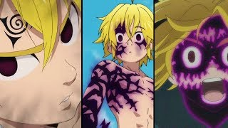 Seven Deadly Sins - All Meliodas' Demon Modes Explained