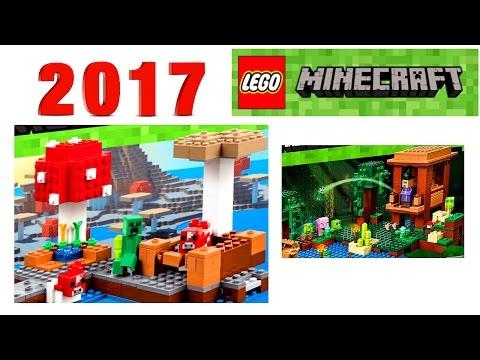 Лего Майнкрафт 2017 Хижина ведьмы и новинки наборы LEGO Minecraft