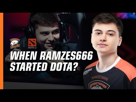 Who first started playing Dota 2? VP questionnaire