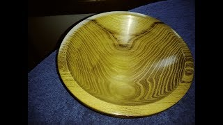 Wood Turning Locust Bowl Interesting Grain