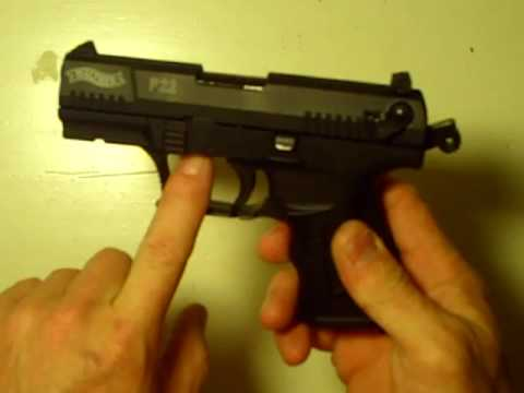 Disassembly Walther P22 Walther P22 Issues And