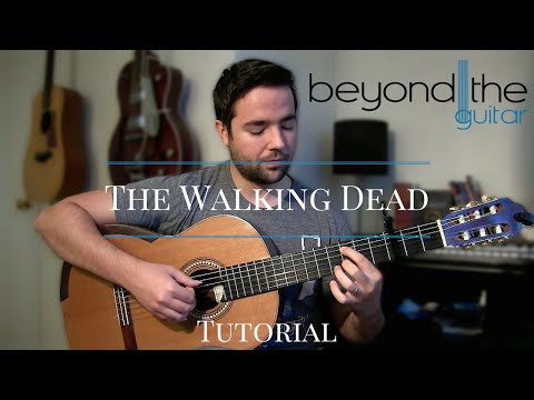 The Walking Dead Theme - Guitar Tutorial (BeyondTheGuitar.com)