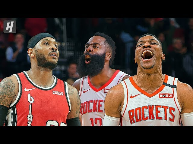 Portland Trail Blazers vs Houston Rockets - Full Highlights   January 15, 2020   2019-20 NBA Season thumbnail