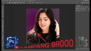 Cara Menyeleksi Rambut Di Photoshop Dengan Mudah