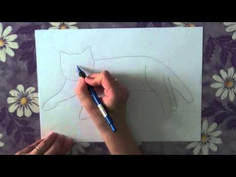 Видео как нарисовать сфинкса поэтапно