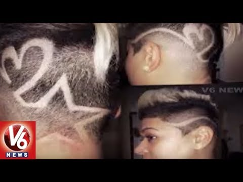 Hyderabad Youth Shows Interest On Hair Art | Hair Tattoos | V6 News