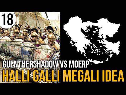 Total War: Rome 2 | Massalia in Halli Galli Megali Idea | 18 | GuentherShadow vs Moerp | Sehr Schwer