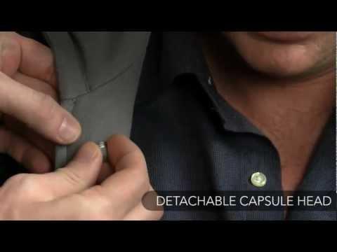 Rode PinMic - Microfone de Lapela para Filmadoras ou Câmeras HDSLRs