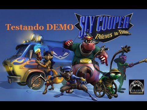 Sly Cooper Viajantes do Tempo: Testando DEMO