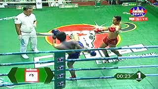 Kun Khmer, យុគ យក្សផ្លែ Vs យុត្តាឆៃ (ថៃ), Yuk YeakPlae Vs Yutachhai (Thai), SEATV boxing 20/4/2019