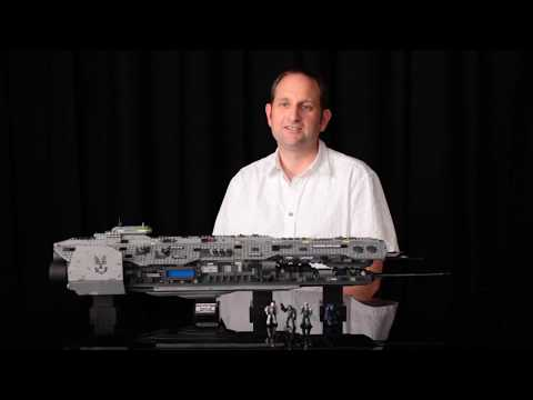 Making of Halo Mega Bloks Forward Unto Dawn