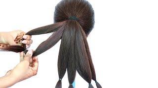 8 easy messy bun hairstyles    hairstyle trick    hair style girl    cute hairstyles    hairstyle
