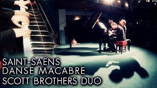 Saint Saens Danse Macabre  Piano Duet  Scott Brothers Duo Penrith Music Club