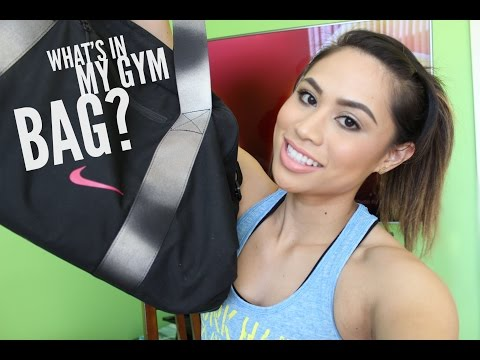 What's in My Gym Bag? | Jerri Trinidad