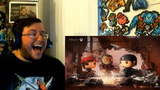 Gears POP! & Gears Tactics! - Microsoft Conference 2018 LIVE Group Reaction (E3 2018)