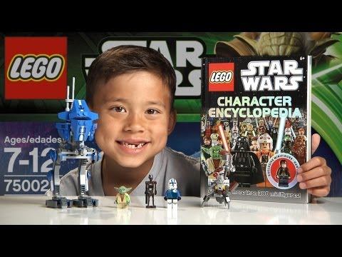 AT-RT - LEGO Star Wars Set 75002 & LEGO Minifig Encyclopedia Time-lapse Build, Unboxing & Review