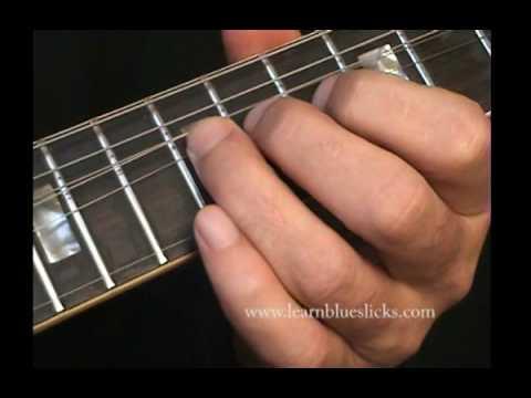 Blues Lesson - Joe Walsh Style Lick